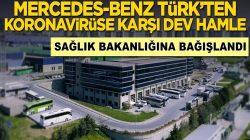 Mercedes-Benz Türk'ten koronavirüse karşı dev hamle!