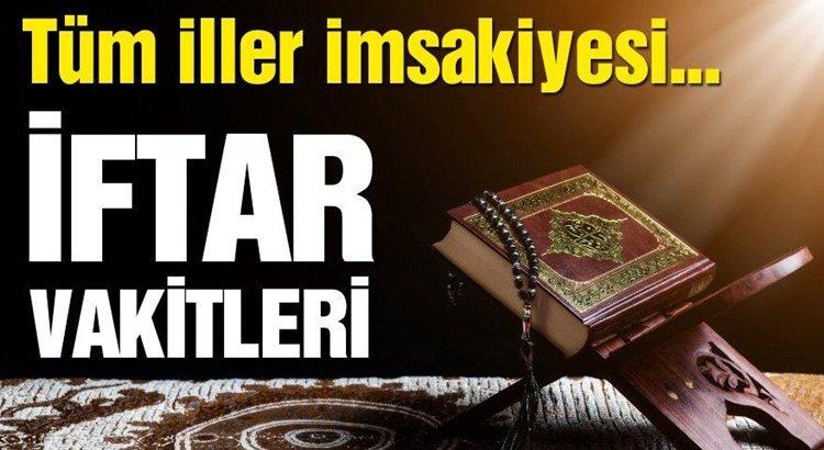 Sahur kaçta imsak vakti! İftar saat kaçta, İstanbul,Ankara,Bursa,Kocaeli