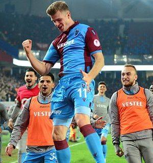 Trabzonsporlu Sörloth'un transferi için ilk açıklama geldi