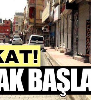 Türkiye genelinde Hangi illerde sokağa çıkma yasağı ilan edildi?