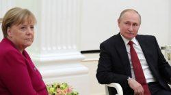 Vladimir Putin, Angela Merkel ile görüştü! Konular ilginç