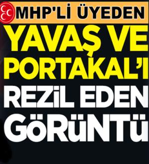 MHP'den Mansur Yavaş ve Fatih Portakal'ı rezil eden görüntü
