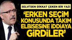 Abdulkadir Selvi, CHP'liler seçim için takım elbisesine iddiaya girdiler