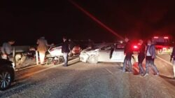Bakan Adil Karaismailoğlu'nun konvoyunda zincirleme kaza