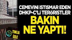 Cemevini istismar eden DHKP-C'li teröristler bakın ne yaptı!