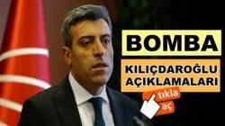 CHP'den ihraç edilen Öztürk Yılmaz'dan Bomba Kılıçdaroğlu açıklaması