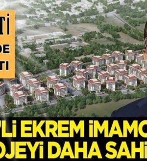 CHP'li Ekrem İmamoğlu, AK Parti ne yapmışsa bir bir sahipleniyor