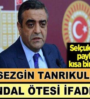 CHP'li Sezgin Tanrıkulu'ndan bildiğimiz gibi skandal sözler!