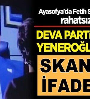 Deva Partisi vekili Mustafa Yeneroğlu'ndan skandal sözler!