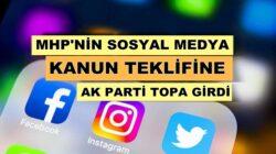 Devlet Bahçeli işareti ile AK Parti sosyal medya için yeni yasa hazırlıyor!