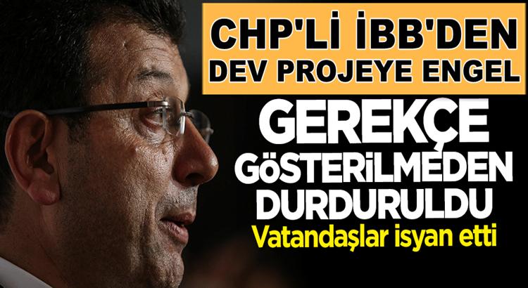 Ekrem İmamoğlu'nun yönetiminde İBB Esenlerdeki projeyi durdurdu