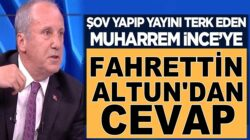 Fahrettin Altun'dan CHP'li Muharrem İnce'ye cevap gecikmedi
