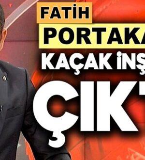 Fatih Portakal'ında, Yılmaz Özdil gibi kaçak villası çıktı !