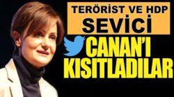 HDP sevici CHP'li Canan Kaftancıoğlu'nun Twitter hesabı askıya alındı