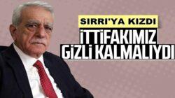 HDP'li Ahmet Türk'ten Sırrı Süreyya Önder açıklaması geldi