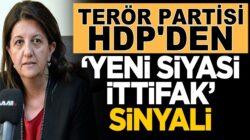 HDP'li Pervin Buldan Yeni siyasi ittifaklara destek verebiliriz dedi