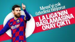 İspanya'da La Liga, 8 Haziran tarihi itibarıyla başlayacak