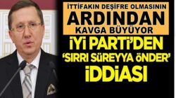 İYİ Parti'li Lütfü Türkkan'dan 'Sırrı Süreyya Önder' iddiası