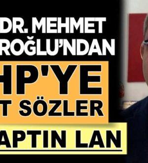 Mehmet Çilingiroğlu'ndan CHP'li Mustafa Akaydına sert sözler