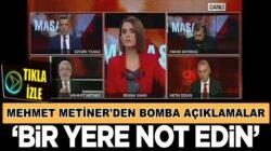 Mehmet Metiner'den çarpıcı Kılıçdaroğlu iddiası:Bir yere not edin