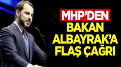 MHP'li, Cemal Enginyurt'tan Berat Albayrak'a flaş çağrı !