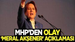 MHP'li Cemal Enginyurt'tan  Meral Akşener'e çok sert sözler