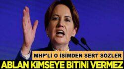 MHP'li Cemal Enginyurt'tan Sert sözler: Ablan kimseye bitini vermez