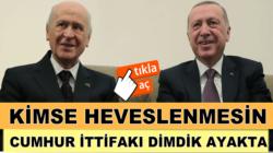 MHP'li Semih Yalçın, Kimse heveslenmesin Cumhur İttifakı dimdik ayakta!