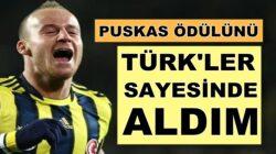 Miroslav Stoch: Puskas Ödülü'nü almamda Türkiye'nin büyük büyük