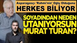 Rahmi Turan'ın Sözcü'de yazan Oğlu Neden başka soyisim kullanıyor