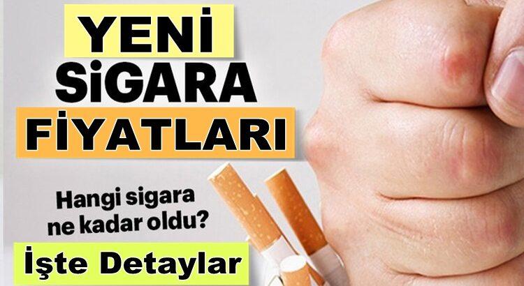Sigara fiyatları ne kadar oldu, ne kadar zam geldi? İşte yeni fiyatlar