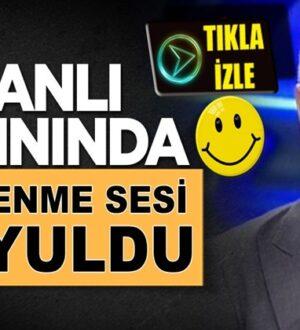 Veyis Ateş'in Haber Türk'teki programında canlı yayında yellenme sesi
