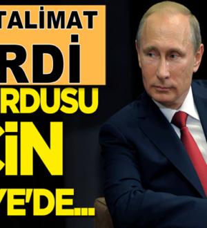 Vladimir Putin Rus ordusu için Suriye'de ilave yer istedi