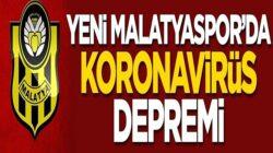 Yeni Malatyaspor'da süper lig öncesi koronavirüs depremi