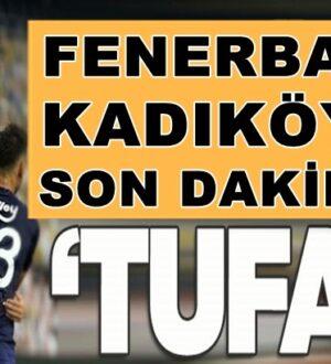 Fenerbahçe Yeni Malatyaspor Sondakika golüyle geçti