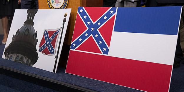 ABD'nin Mississippi eyaletinin bayrağı değişiyor