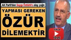 AK Parti'li Salih Cora, Saygı Öztürk'e olay çağrı! 'Özür dilemek yerine…'
