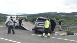 Alişan ve ailesi feci trafik kazasında ölümden döndü!