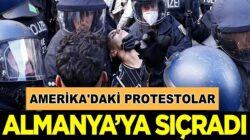 Amerika'daki  George Floyd protestoları Almanya'ya sıçradı
