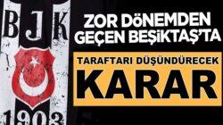 Beşiktaş borçlarından kurtulmak için 2.FEDA kararı aldı