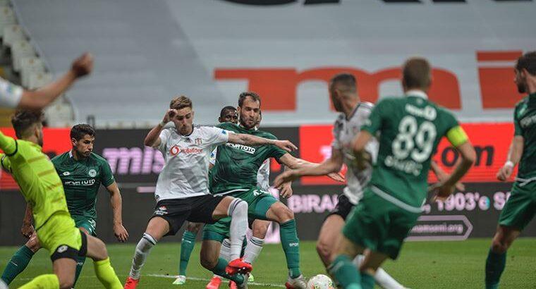 Beşiktaş kendi evinde Konyaspor'u 3 farkla rahat geçti