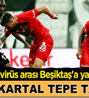Beşiktaş kendi sahası Vodafone Park Antalyaspor'a yenildi !