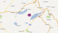 Burdur'da 3.8 büyüklüğünde deprem meyadana geldi