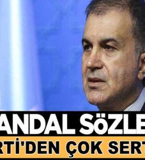 CHP'nin Skandal Sultanahmet çıkışına Ak Parti'den sert yanıt geldi