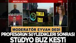 CNN TÜRK'te Profesörün korona sözleri sonrası stüdyo buz kesti!