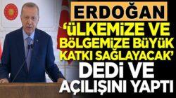 Cumhurbaşkanı Tayyip Erdoğan Kars Barajı'nın açılışını yaptı