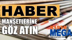 Ensonhaber'ler İnternethaber'ler Sabah Akşam haberler'i Radyo Mega'da