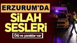 Erzurum'un Yakutiye ilçesinde Hastanede silah sesleri! Ölü ve yaralılar var