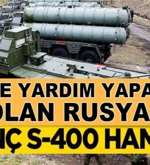 Esed'e yardımlarına devam eden Rusya'dan ilginç S-400 hamlesi!