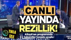 Fatih Altaylı'nın Teke Tek programında hakaretler havada uçuştu